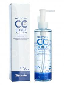 Многофункциональное средство для удаления СС крема  SECRET SKIN CC Bubble Multi Cleanser