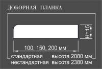 Добор массив сосна/ольха шпон ОЛЬХА 15*200*2080 (шт.)