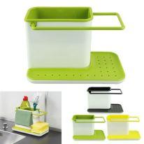 Кухонный стеллаж для хранения утвари KITCHEN STANDS 3in1, зелёный