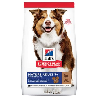 Hill's Canine Mature Adult 7+ Active Longevity Med Lamb & Rice