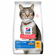 Hill's Feline Adult Oral Care - Для взрослых кошек (профилактика зубного камня) (1,5 кг)