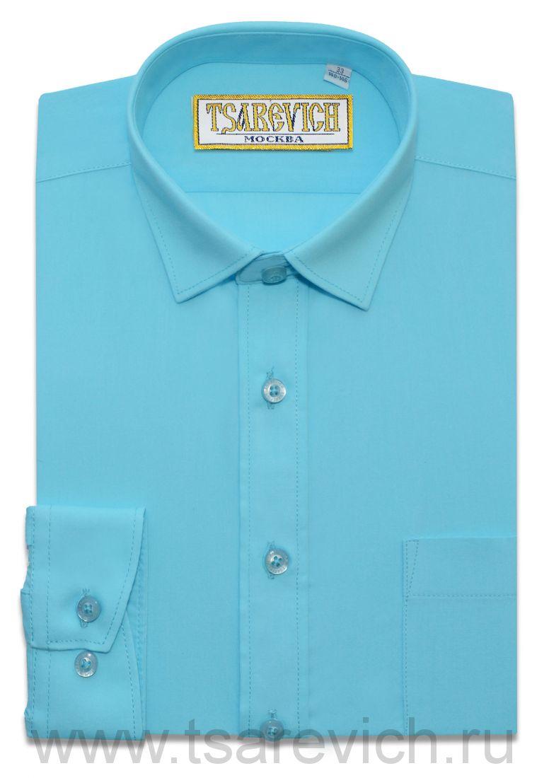 Рубашка для первоклассника 29(116-122) арт. Aquarius длинный рукав