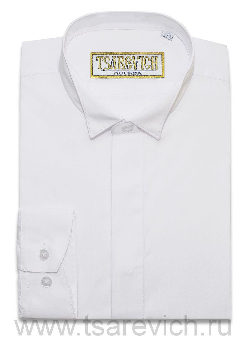 Рубашка для первоклассника 29(116-122) арт.PT2000 bow длинный рукав (под бабочку)