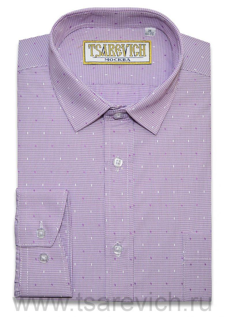 Рубашка для первоклассника 29(116-122) арт. 7 длинный рукав