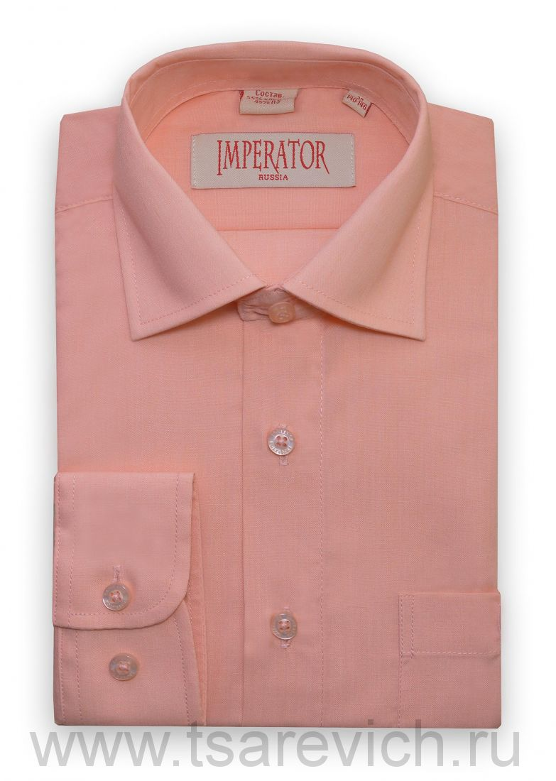 "Детская рубашка школьная,    ""IMPERATOR"", оптом 10 шт., артикул: Coral"