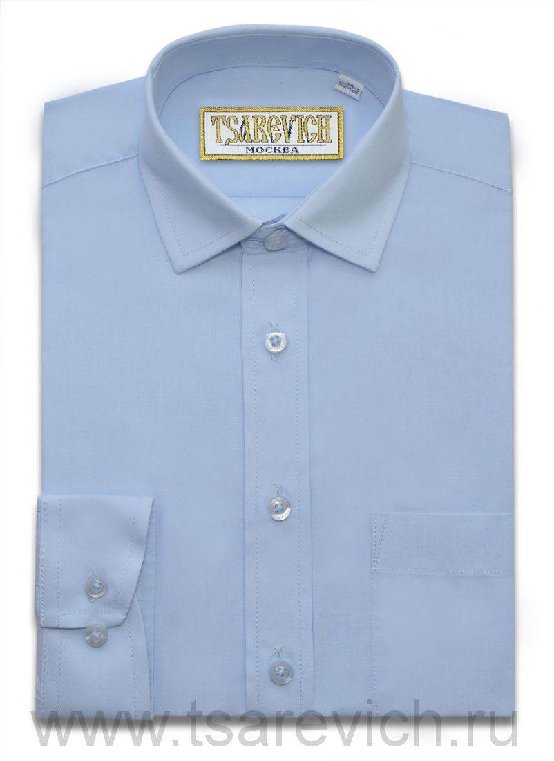 "Детская рубашка школьная,    ""IMPERATOR"", оптом 10 шт., артикул: Dream Blue"