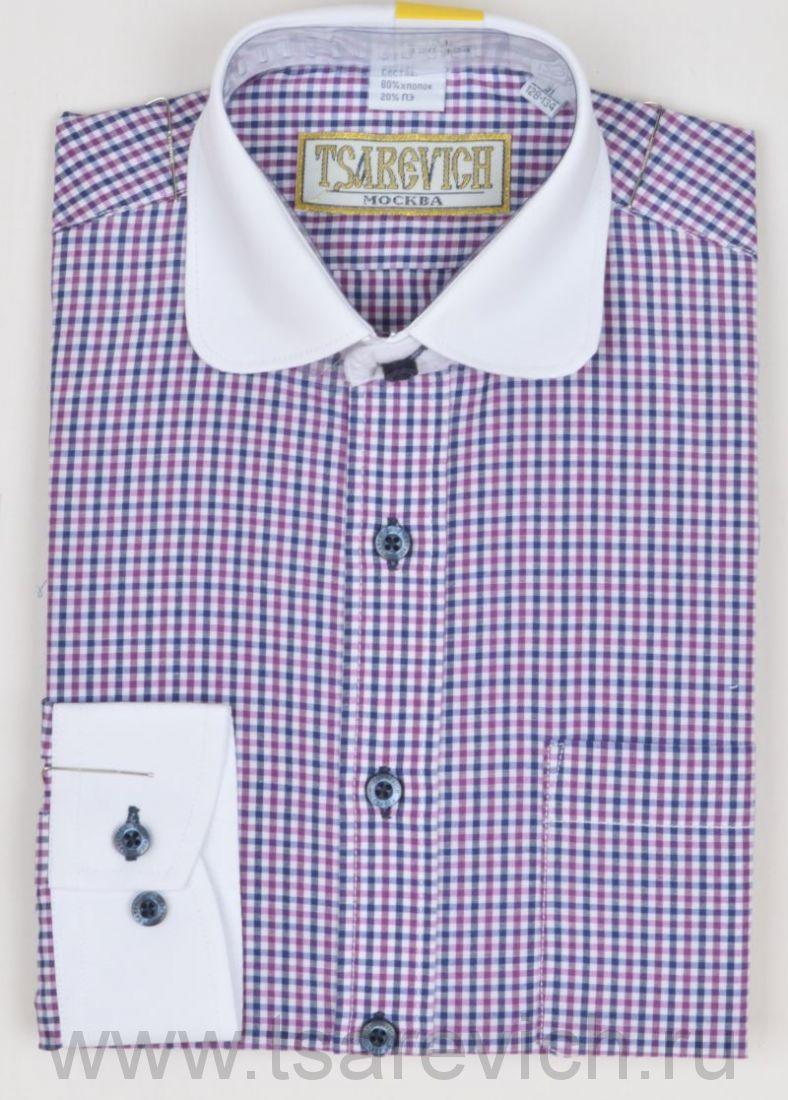 "Рубашки для мальчиков оптом ""Царевич"" (6-14 лет.). 10 шт. Артикул: Prince 4"