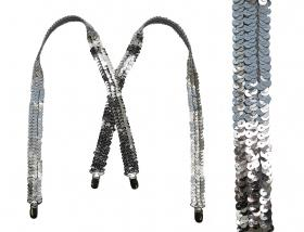 """Подтяжки для девочек """"Belona"""" (7-14 лет) от 1 шт. Артикул: Gl-Silver"""