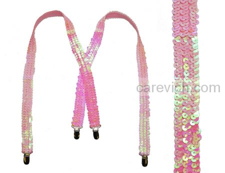 """Подтяжки для девочек """"Belona"""" (7-14 лет) от 1 шт. Артикул: Gl-pink"""
