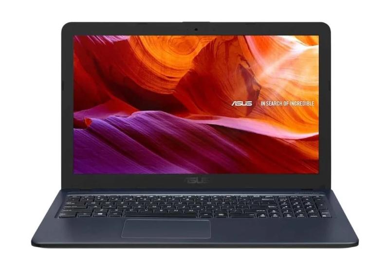 "Ноутбук ASUS X543UB-GQ1595 (Intel Pentium 4417U 2300 MHz/15.6""/1366x768/4GB/256GB SSD/DVD нет/NVIDIA GeForce MX110/Endless OS) (90NB0IM7-M23320) Gray"
