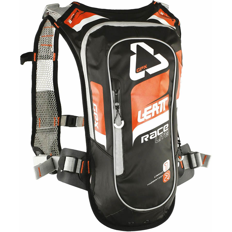 Leatt GPX Race HF 2.0 Orange/Black Hydration Pack рюкзак-гидропак, оранжево-черный