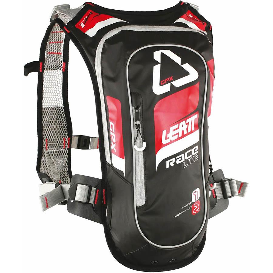 Leatt GPX Race HF 2.0 Red/Black Hydration Pack рюкзак-гидропак, красно-черный