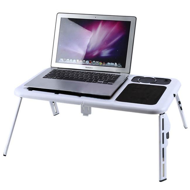 Портативный столик для ноутбука с охладителем