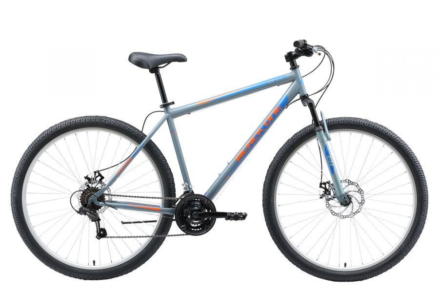 Велосипед BLACK ONE Onix 29 D Серый/оранжевый/голубой (H000014275)