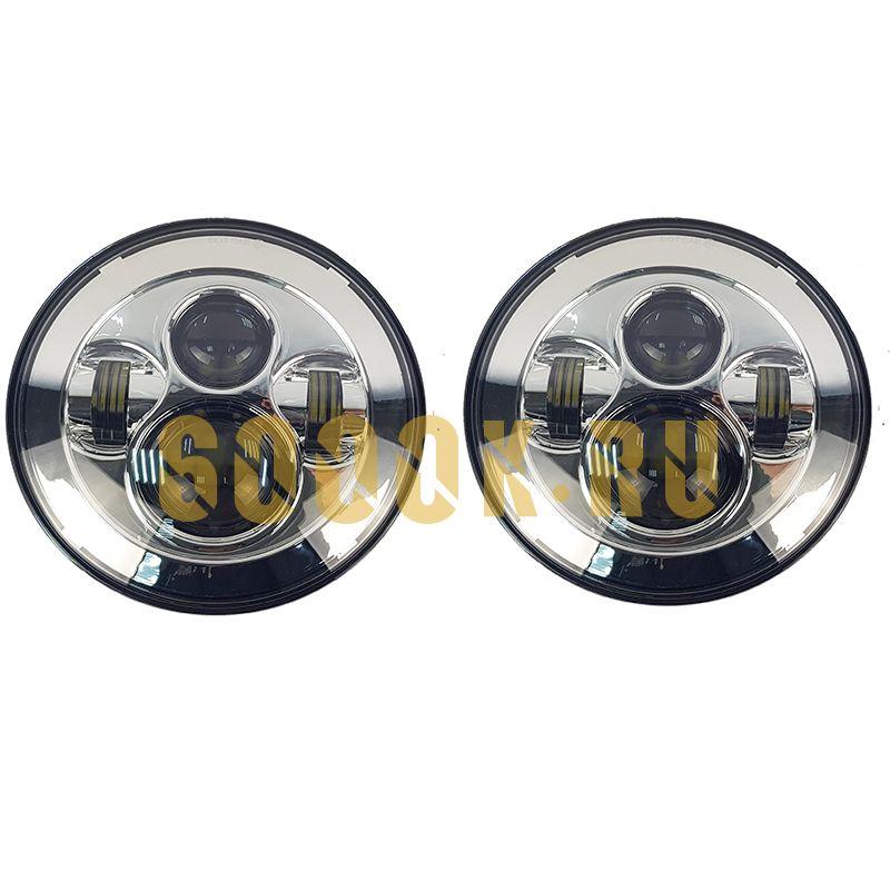 Светодиодные фары головного света 7 дюймов 80 Вт