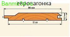 "Вагонка сосна ""С"" 2,4м"