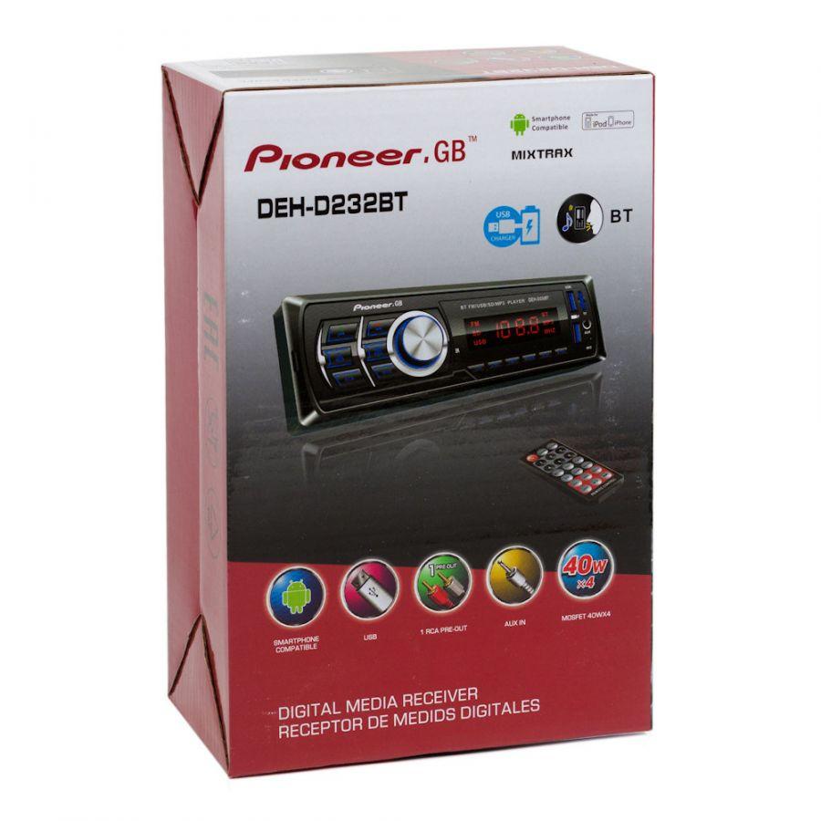 Автомагнитола Pioneer.GB DEH-D232BT (радио,USB,bluetooth)