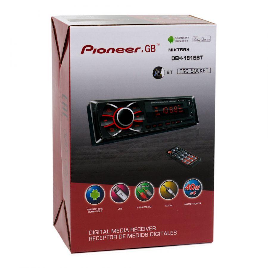 Автомагнитола Pioneer.GB DEH-181SBT