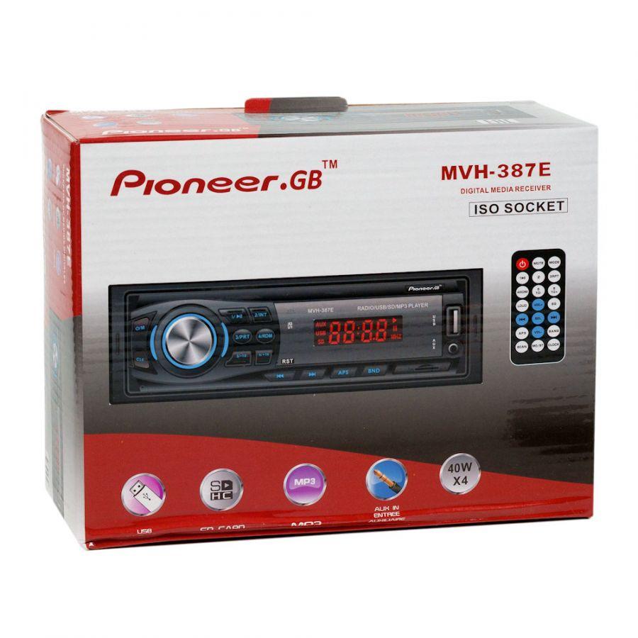 Автомагнитола Pioneer.GB MVH-387E