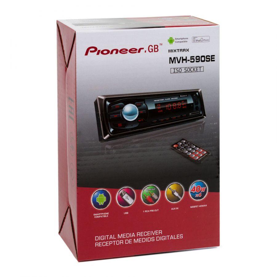 Автомагнитола Pioneer.GB  MVH-590SE