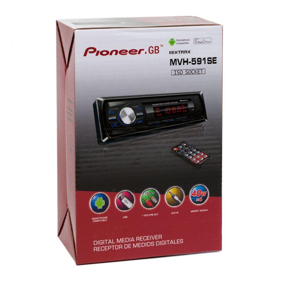 Автомагнитола Pioneer.GB MVH-591SE