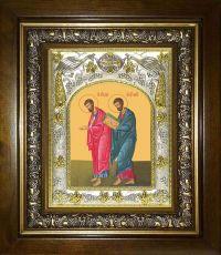 Икона Лука и Марк апостолы (14х18)
