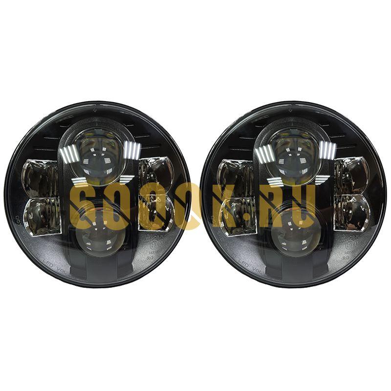 Светодиодные фары головного света 7 дюймов 160Вт с ДХО