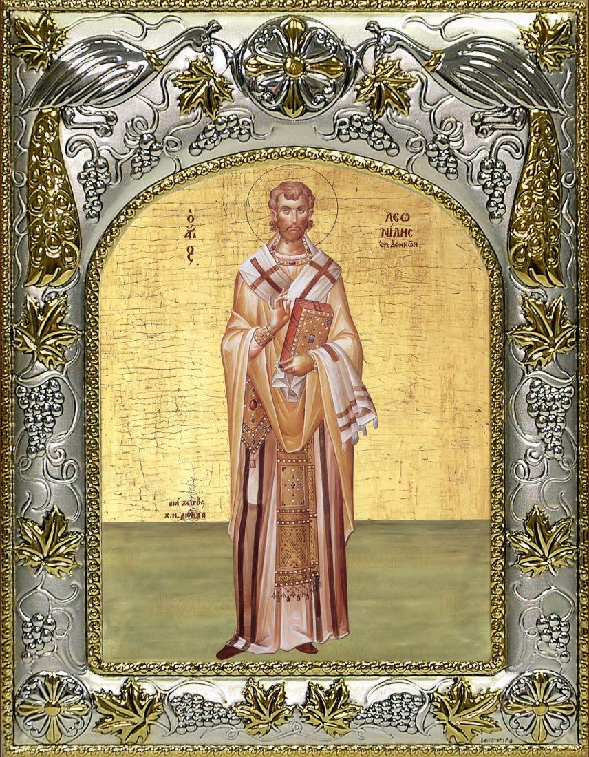 Икона Леонид Афинский святитель (14х18)