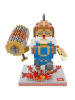 Конструктор Wisehawk & LNO Варкрафт серия 618 деталей NO. 2454 Warcraft series mini blocks