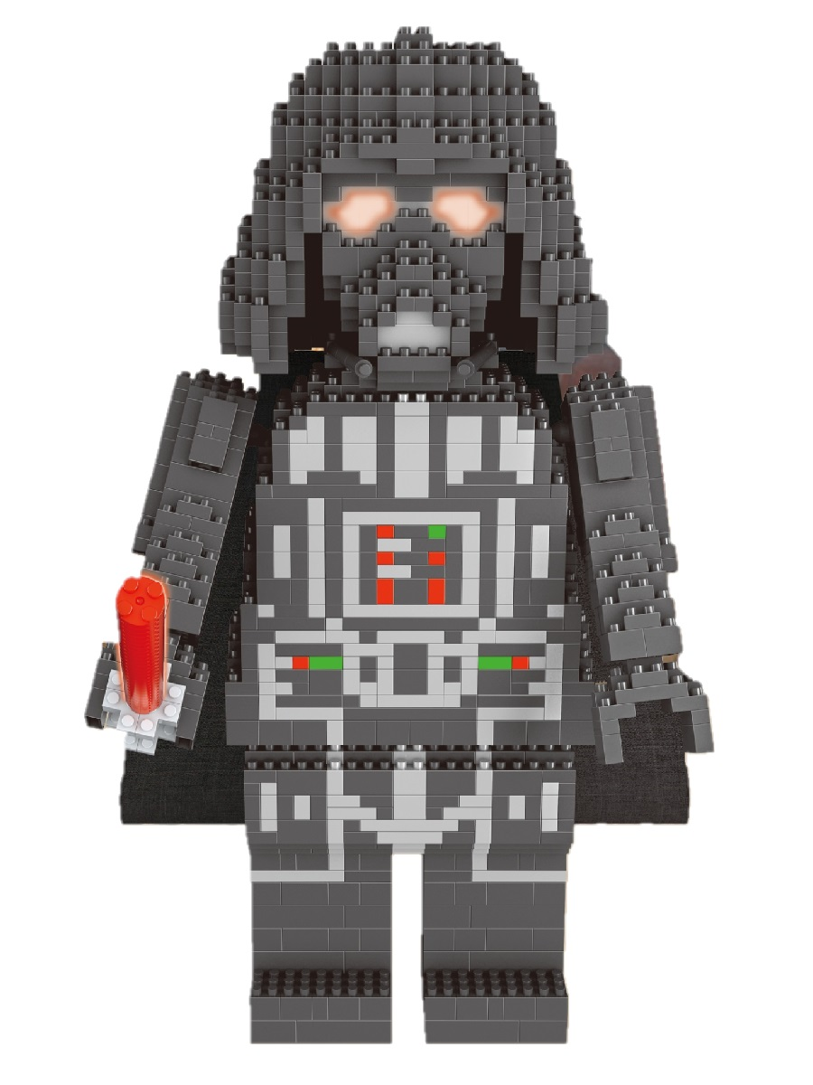Конструктор Wisehawk & LNO Дарт Вейдер big 1295 деталей NO. 2485 Big Darth Vader
