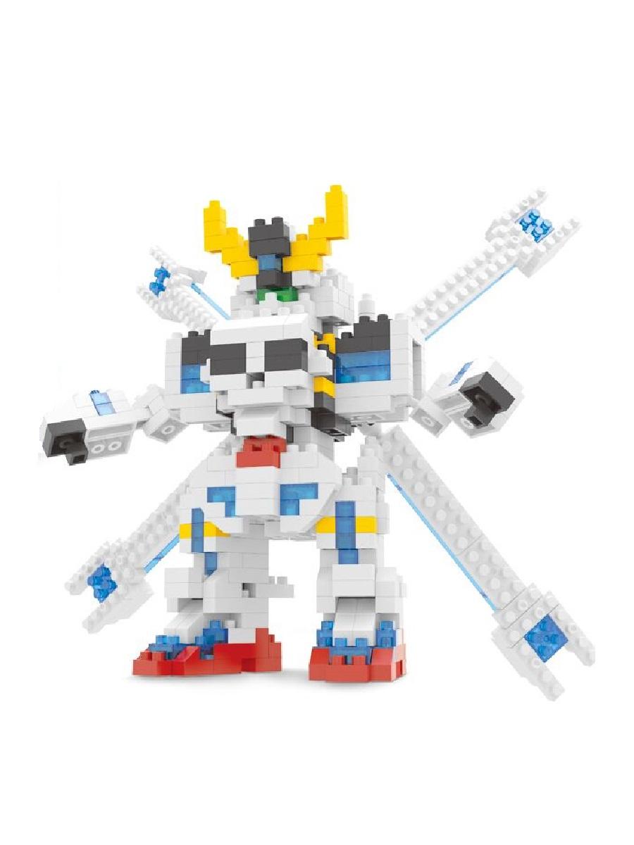 Конструктор Wisehawk & LNO Кроссбон Гандам 458 деталей NO. 2358 Сrossbone Gundam Moan mini block