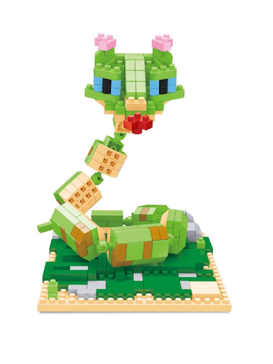 Конструктор Wisehawk & LNO Мастер Гадюка 367 деталей NO. 2391 Viper Kung Fu Panda mini blocks