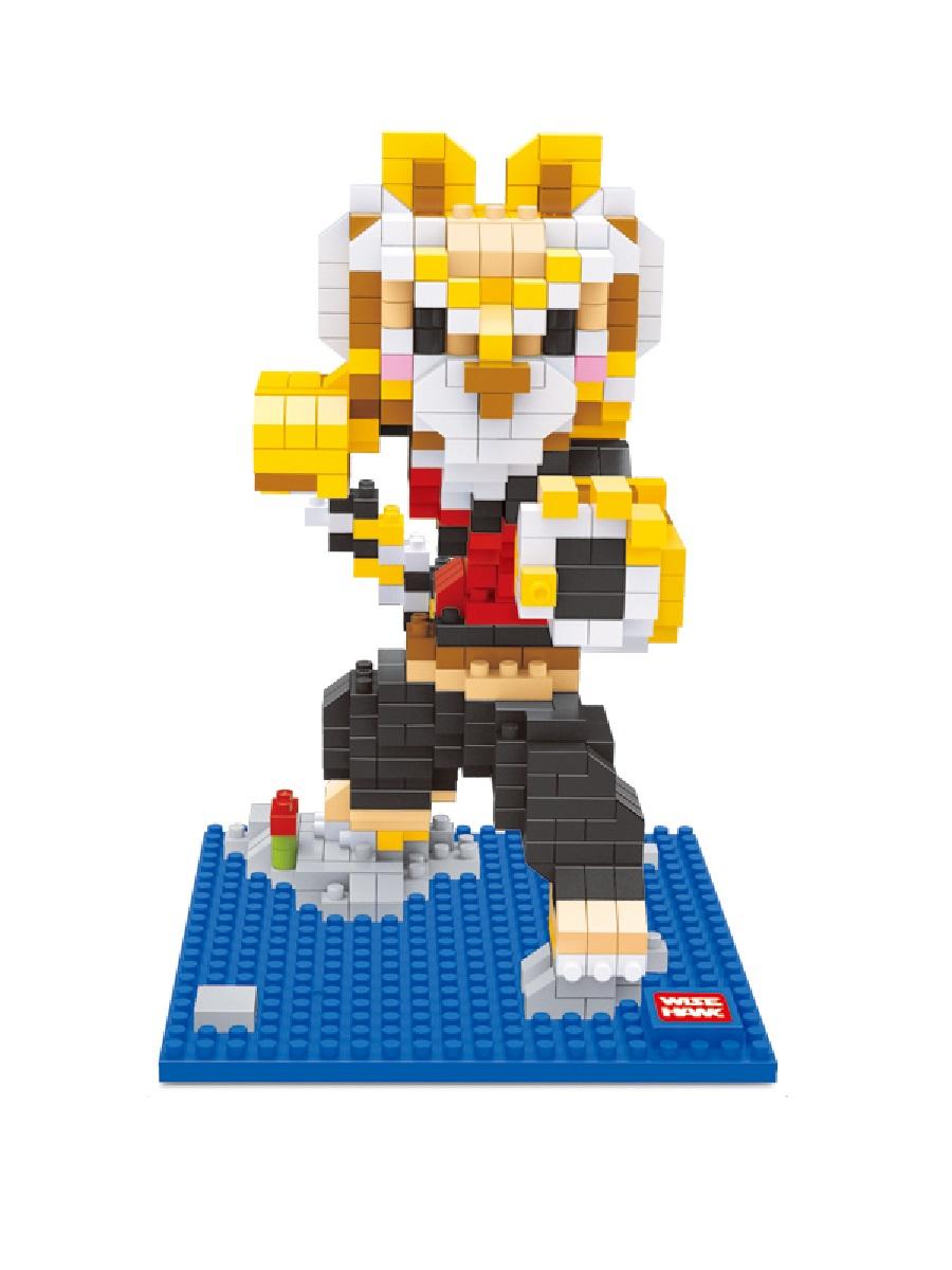 Конструктор Wisehawk & LNO Мастер Тигрица 516 деталей NO. 2389 Tigress Kung Fu Panda mini blocks