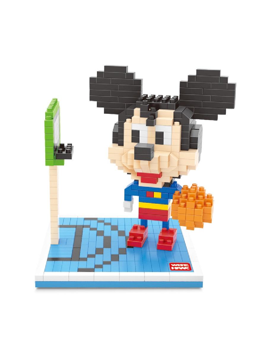 Конструктор Wisehawk & LNO Микки маус Супермен 478 деталей NO. 2372 Mickey Superman mini blocks