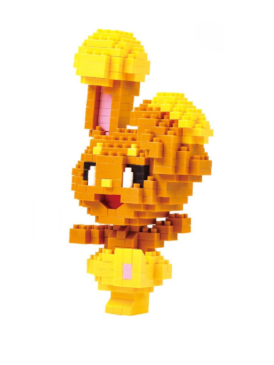 Конструктор Wisehawk & LNO Покемон Банири 361 деталь NO. 217 Buneary Pokemon Gift Series