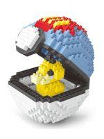Конструктор Wisehawk & LNO покемон бол Псидак 414 деталей NO. 2538 Psyduck Pokemon ball Gift Series