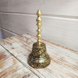 Валдайский колокольчик с ручкой №5 (гравировка)