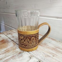 Подстаканник со стаканом «Валдай»