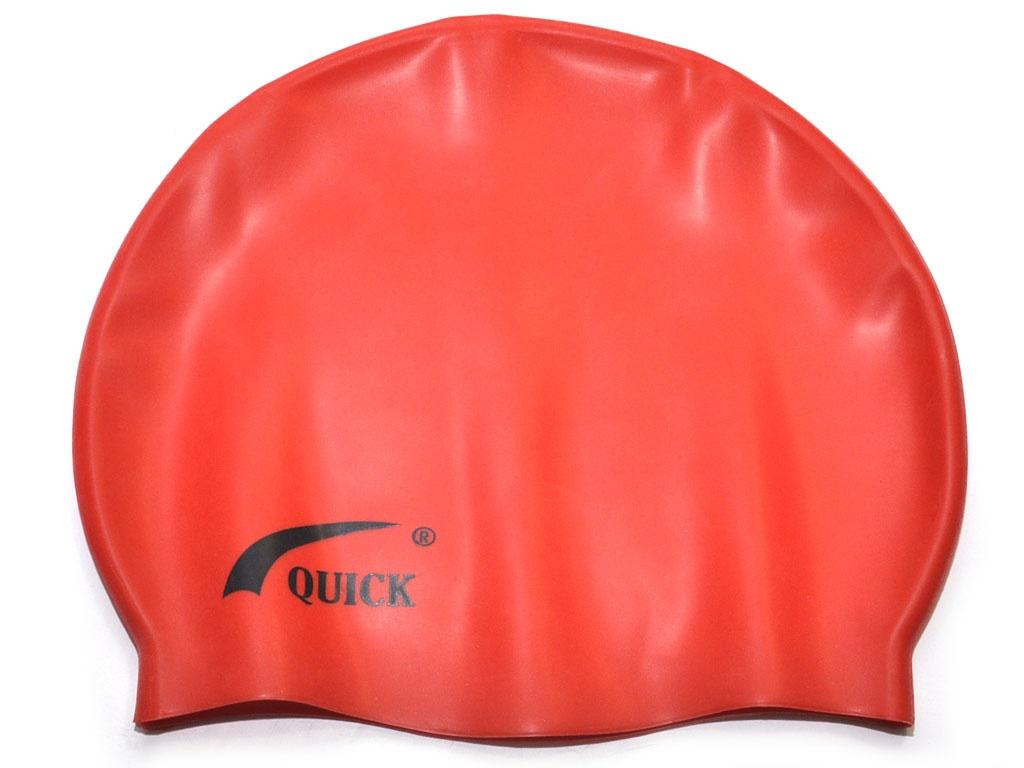 Шапочка для плавания красная, артикул 06106