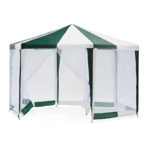 Тент - шатер садовый Green Glade 1001 2х2х2х2,6м (полиэтилен)