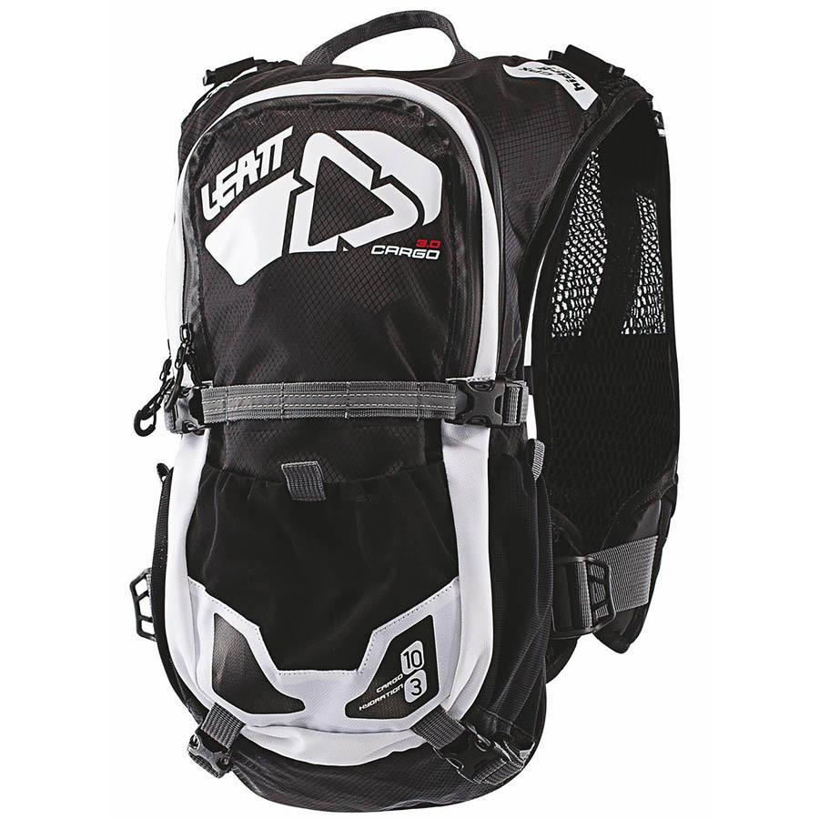 Leatt  GPX Cargo 3.0 Black/White Hydration Pack рюкзак-гидропак, черно-белый