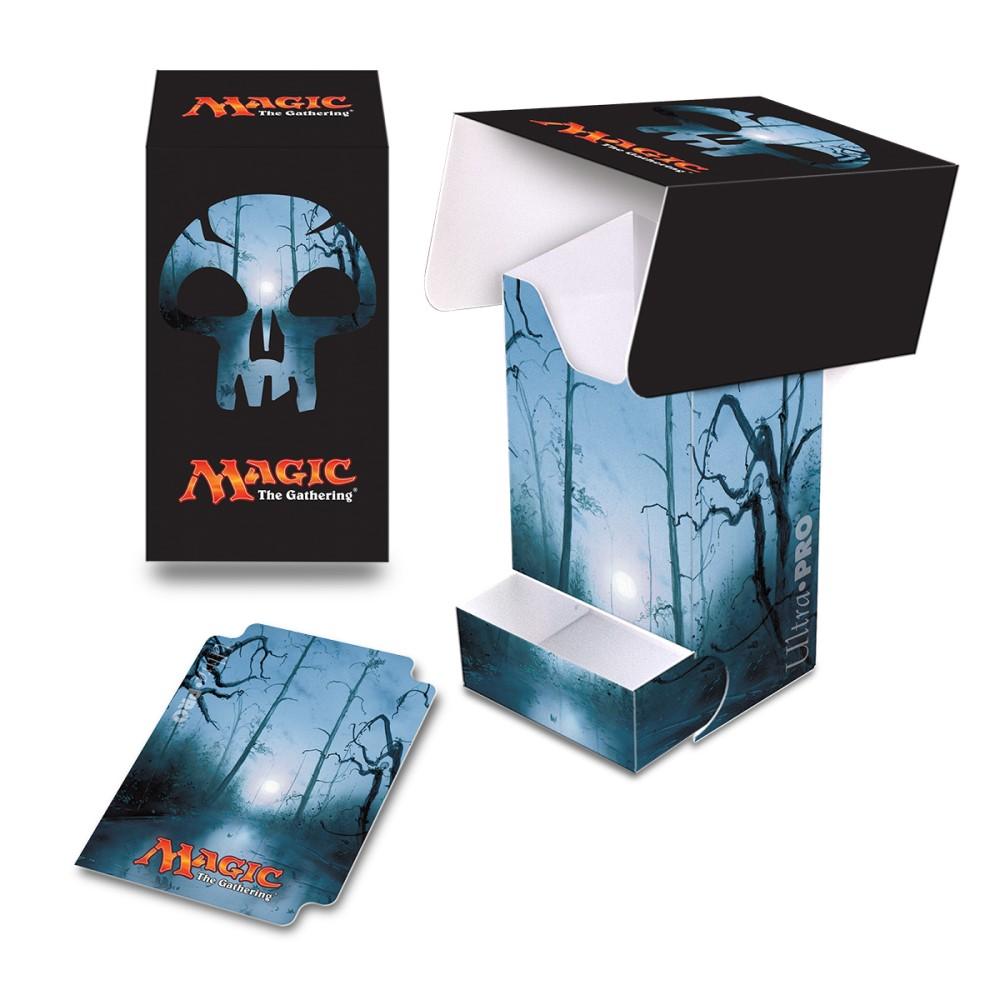 Пластиковая коробочка Ultra-Pro «Mana 5 Swamp Full View»