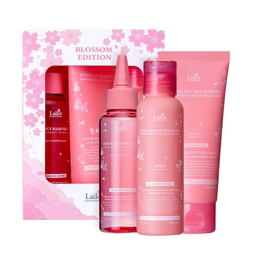 Набор для восстановления волос La'dor Blossom Edition