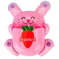 Органайзер для ванной Зайчик, розовый