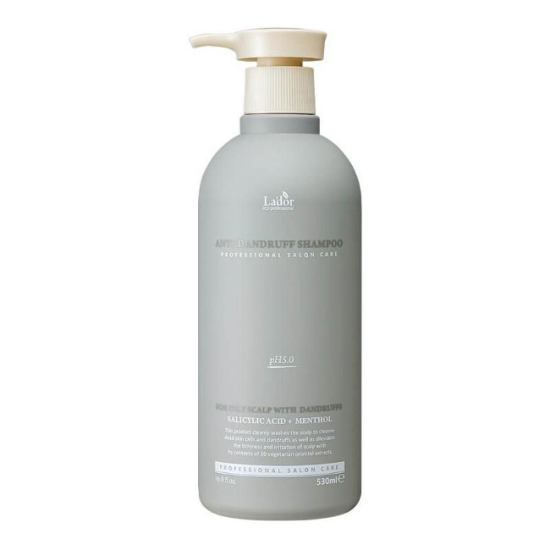 Слабокислотный шампунь против перхоти для чувствительной кожи головы  La'dor Anti Dandruff Shampoo