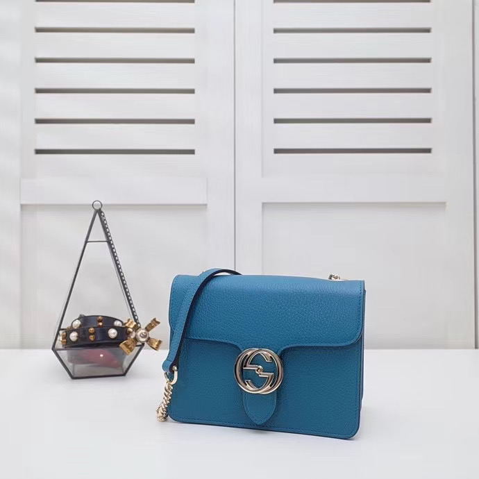 Gucci Interlocking Bag 20 cm