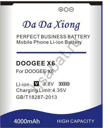Аккумулятор Doogee X6 4000 мАч Япония