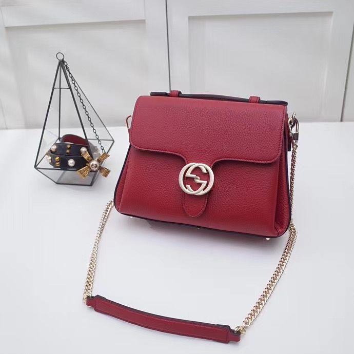 Gucci Interlocking Bag 25 cm
