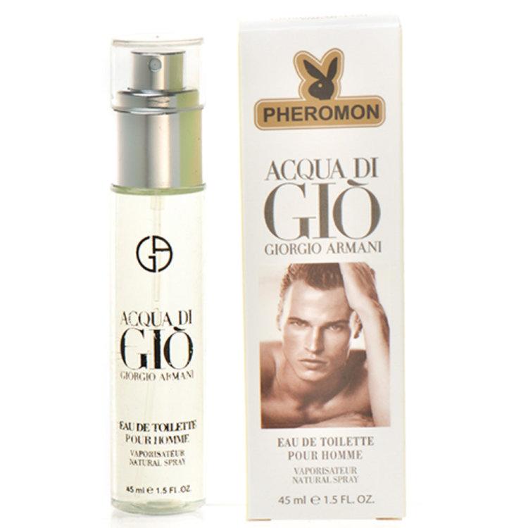 Мини-парфюм с феромонами Giorgio Armani Aqua Di Gio 45 ML