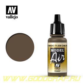 """038.  """"Model Air""""  Комуфляжный коричневый средний"""